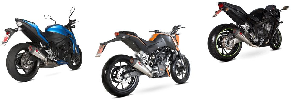 Escapes motos Scorpion